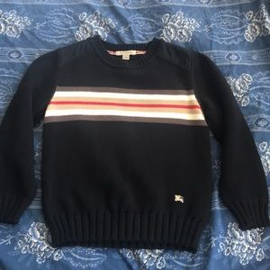Boy's Burberry sweater EUC SZ6